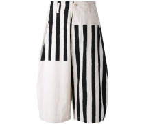 Gestreifte Shorts - men - Baumwolle - 2