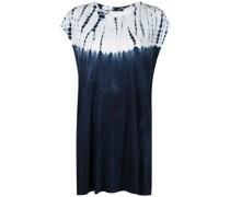 T-Shirt-Kleid im Used-Look