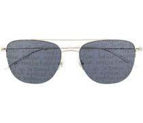 Eckige 'MB0096S' Sonnenbrille