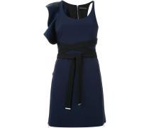 Kleid mit Rüschen- und Schleifenapplikation