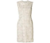 Bouclé-Tweed-Kleid