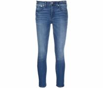 Halbhohe Cate Skinny-Jeans