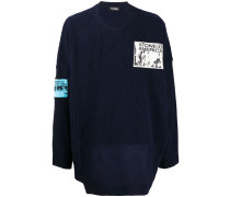 patches oversized jumper