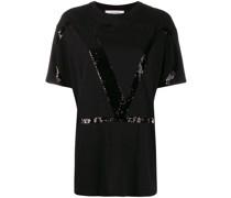Garavani T-Shirt mit Pailletten