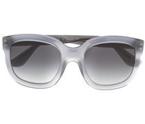 Eckige Sonnenbrille mit getönten Gläsern