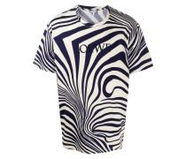 T-Shirt mit psychedelischem Print