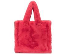 Lolita faux fur tote bag