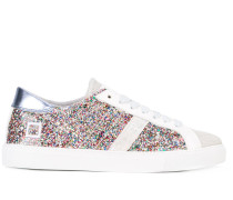 Sneakers mit Glitzerapplikationen - women