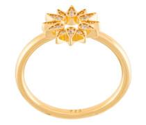 'Sun Biography' Ring aus Gold-Vermail mit Saphiren