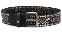 embellished buckle belt - women - Leder - 75