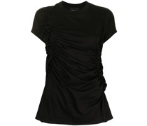 T-Shirt mit Rüschendetail