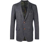 Tweed-Sakko mit zwei Knöpfen