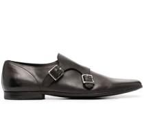 Monk-Schuhe mit Doppelriemen