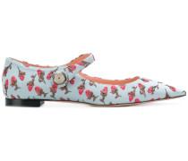 pointed ballerina pumps