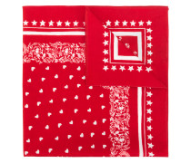 Sacred Heart printed bandana scarf