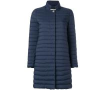 padded midi coat