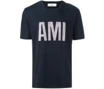 "T-Shirt mit ""Ami""-Patch"