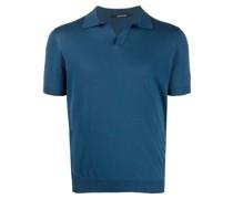 short-sleeve cotton polo shirt
