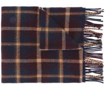 A.P.C. Karierter Schal mit Fransen
