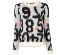 number motif jumper