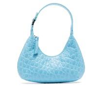 Mina Mini-Tasche mit Kroko-Effekt