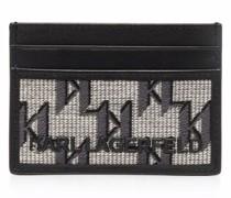 Portemonnaie aus Monogramm-Jacquard