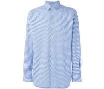 Bias striped shirt