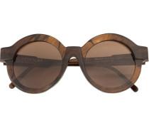 - Runde Sonnenbrille - unisex - Acetat/glass