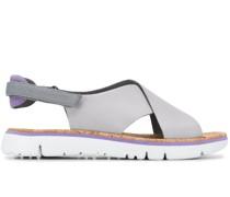 'Oruga' Sandalen mit überkreuzten Riemen