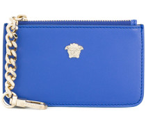 Medusa zipped chain purse