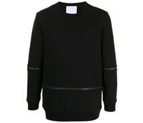 Sweatshirt mit Reißverschlussdetails