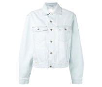 Jeansjacke in Distressed-Optik - women