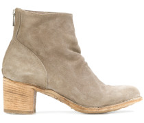 brushed ankle boots