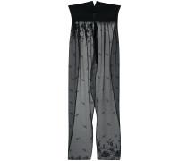 semi-sheer apron trousers