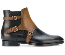 Stiefel mit Kontrasteinsatz