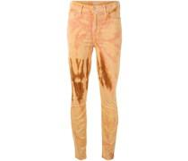 Skinny-Jeans in Batikoptik