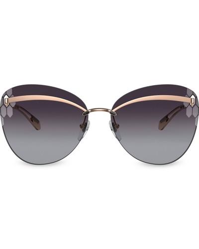 'Serpenti Flyingscale' Sonnenbrille