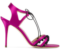 Sandalen mit Stilettoabsatz