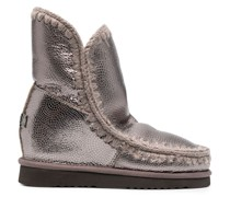Eskimo Stiefel im Metallic-Look