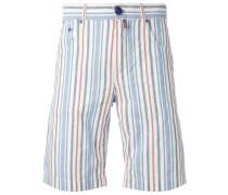 Gestreifte Chino-Shorts - men