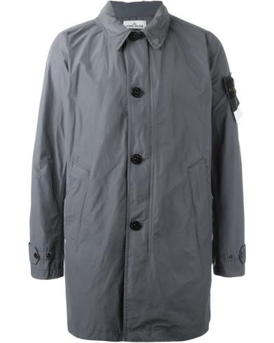 stone island herren buttoned up raincoat reduziert. Black Bedroom Furniture Sets. Home Design Ideas