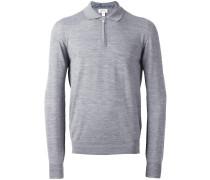Poloshirt mit langen Ärmeln - men - Wolle - 58