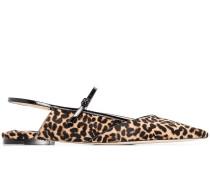 'Ree' Pumps mit Leoparden-Print