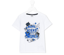 """Karl Rocks The World"" T-Shirt"