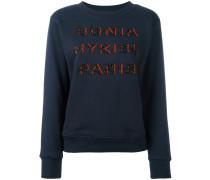 - Sweatshirt mit verziertem Logo-Design - women