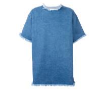 T-Shirt in Jeans-Optik