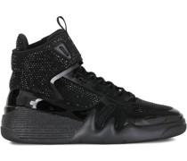 'Talon' Sneakers mit Kristallen