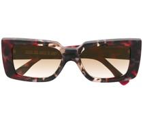 Sonnenbrille mit Marmor-Effekt