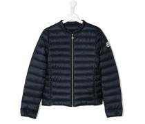 padded jacket - kids - Daunenfedern/Polyamid