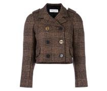 Cropped-Tweed-Jacke